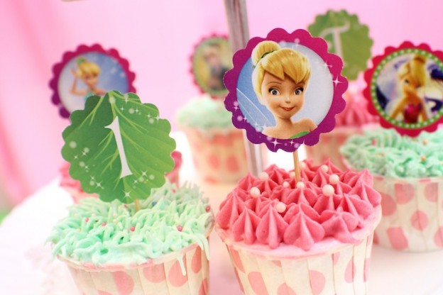 Tinkerbell Themed Birthday Party with Tons of really Cute Ideas via Karas's Party Ideas Kara Allen KarasPartyIdeas.com #Tinkerbell #Fairies #PartyIdeas (15)