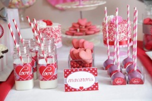 Valentine's Day Sweet Table with Lots of REALLY CUTE Ideas via Kara's Party Ideas Kara Allen | KarasPartyIdeas.com #ValentinesDayParty #ValentinesDayDessertTable #Love #PartyIdeas #Supplies (11)