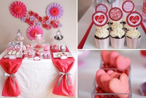 Valentine's Day Sweet Table with Lots of REALLY CUTE Ideas via Kara's Party Ideas Kara Allen | KarasPartyIdeas.com #ValentinesDayParty #ValentinesDayDessertTable #Love #PartyIdeas #Supplies (1)