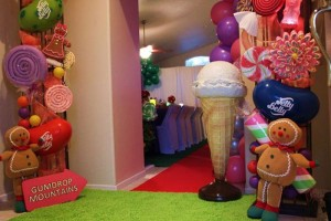 Willy Wonka's Candyland Wonderland Themed Party with So Many Cute Ideas via Kara's Party Ideas KarasPartyIdeas.com #WillyWonkaParty #CharlieAndTheChocolateFactory #CandylandParty #PartyIdeas #Supplies (13)