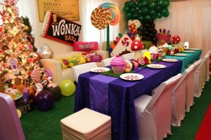 Willy Wonka's Candyland Wonderland Themed Party with So Many Cute Ideas via Kara's Party Ideas KarasPartyIdeas.com #WillyWonkaParty #CharlieAndTheChocolateFactory #CandylandParty #PartyIdeas #Supplies (6)