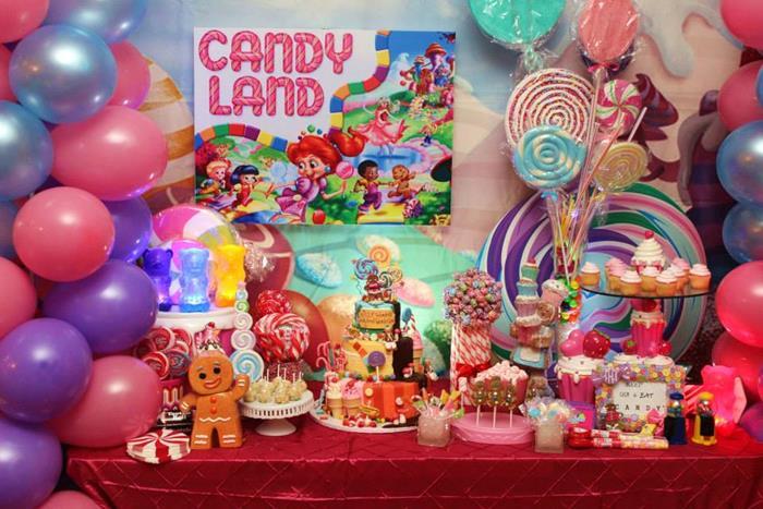 Willy Wonkau0027s Candyland Wonderland Themed Party With So Many Cute Ideas Via  Karau0027s Party Ideas KarasPartyIdeas