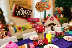 Willy Wonka's Candyland Wonderland Themed Party with So Many Cute Ideas via Kara's Party Ideas KarasPartyIdeas.com #WillyWonkaParty #CharlieAndTheChocolateFactory #CandylandParty #PartyIdeas #Supplies (25)