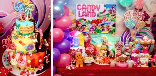 Willy Wonka Candyland themed Birthday Party via Kara's Party Ideas KarasPartyIdeas.com