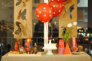 Woodland Party with Really Cute Ideas via Kara's Party Ideas KarasPartyIdeas.com #AutumnParty #WoodlandCreatures #FallPartyIdeas #PartyIdeas #Supplies (10)