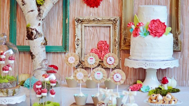 Woodland Owl Party with So Many Darling Ideas via Kara's Party Ideas | KarasPartyIdeas.com #OwlParty #WoodlandParty #PartyIdeas #Supplies (1)