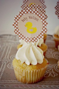 Yellow Vintage Baby Shower with So Many Darling Ideas via Kara's Party Ideas | KarasPartyIdeas.com #GenderNeutralBabyShower #VintageYellowShower #PartyIdeas #Supplies (23)