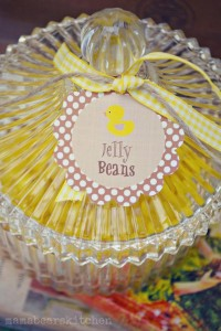Yellow Vintage Baby Shower with So Many Darling Ideas via Kara's Party Ideas | KarasPartyIdeas.com #GenderNeutralBabyShower #VintageYellowShower #PartyIdeas #Supplies (9)