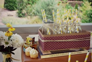 Yellow Vintage Baby Shower with So Many Darling Ideas via Kara's Party Ideas | KarasPartyIdeas.com #GenderNeutralBabyShower #VintageYellowShower #PartyIdeas #Supplies (31)
