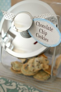 Cookies and Milk Birthday Party Baby Shower ideas via KarasPartyIdeas.com #milkandcookies #babyboyshower #partyideas #decor (10)