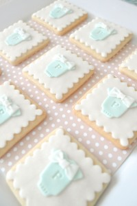 Cookies and Milk Birthday Party Baby Shower ideas via KarasPartyIdeas.com #milkandcookies #babyboyshower #partyideas #decor (9)