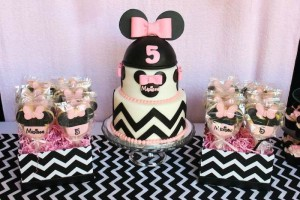 Minnie Mouse themed birthday party with Lots of Really Cute Ideas via Kara's Party Ideas | KarasPartyIdeas.com #minniemouseparty #minniemousecake #partyideas (11)