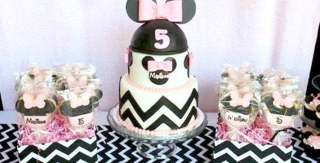 minnie mouse birthday party via kara's party ideas karaspartyideas.com