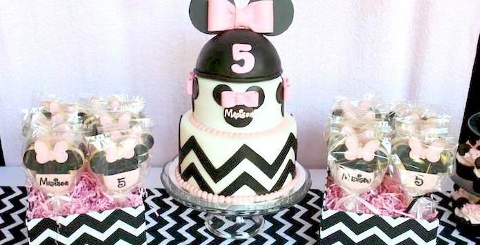Kara S Party Ideas Minnie Mouse Themed Birthday Party
