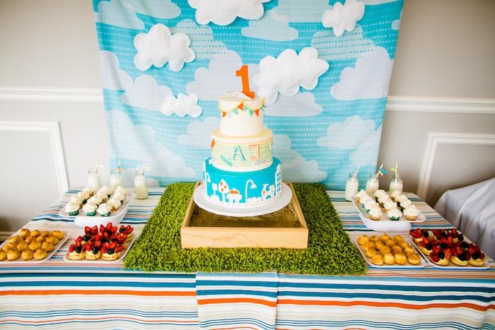 Kara S Party Ideas Modern Boys Will Be Boys 1st Birthday