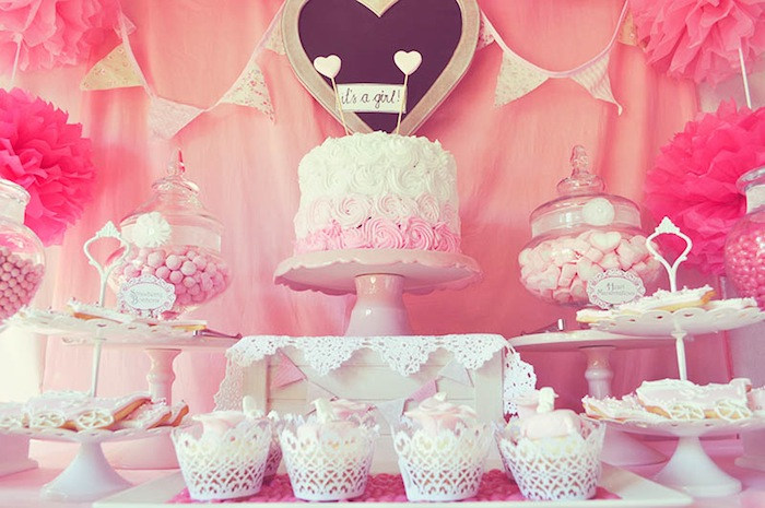 kara 39 s party ideas pink fairytale baby shower or birthday party ideas