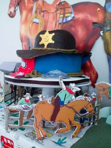 Yee Haw Cowboy Birthday Party with So Many Really Fun Ideas via Kara's Party Ideas KarasPartyIdeas.com #cowboyparty #westernparty #wildwestparty #cowboypartydecor #karaspartyideas (19)