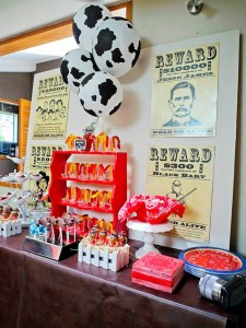 Yee Haw Cowboy Birthday Party with So Many Really Fun Ideas via Kara's Party Ideas KarasPartyIdeas.com #cowboyparty #westernparty #wildwestparty #cowboypartydecor #karaspartyideas (17)