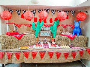 Yee Haw Cowboy Birthday Party with So Many Really Fun Ideas via Kara's Party Ideas KarasPartyIdeas.com #cowboyparty #westernparty #wildwestparty #cowboypartydecor #karaspartyideas (16)