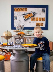 Vintage Airplane themed birthday party Full of Really Cute Ideas via Kara's Party Ideas KarasPartyIdeas.com #airplanes #vintageboyparty #airplaneparty #partyideas (24)