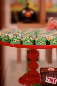 Angry Birds Themed Birthday Party with Lots of Really Fun Ideas via Kara's Party Ideas KarasPartyIdeas.com #angrybirdsparty #boyparties #angrybirdscake #partydecor #partyideas (9)