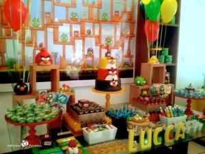 Angry Birds Themed Birthday Party with Lots of Really Fun Ideas via Kara's Party Ideas KarasPartyIdeas.com #angrybirdsparty #boyparties #angrybirdscake #partydecor #partyideas (8)