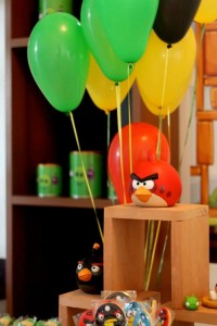Angry Birds Themed Birthday Party with Lots of Really Fun Ideas via Kara's Party Ideas KarasPartyIdeas.com #angrybirdsparty #boyparties #angrybirdscake #partydecor #partyideas (2)