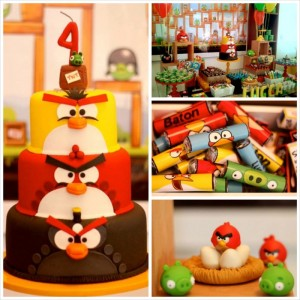 Angry Birds Themed Birthday Party with Lots of Really Fun Ideas via Kara's Party Ideas KarasPartyIdeas.com #angrybirdsparty #boyparties #angrybirdscake #partydecor #partyideas (32)