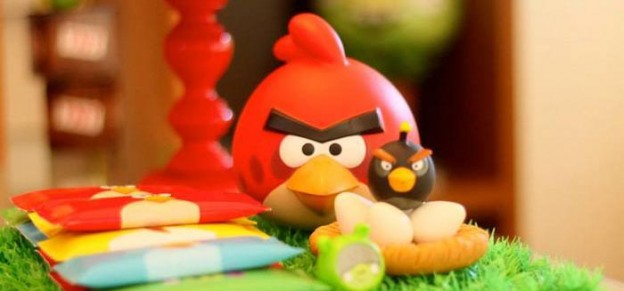 Angry Birds Themed Birthday Party with Lots of Really Fun Ideas via Kara's Party Ideas KarasPartyIdeas.com #angrybirdsparty #boyparties #angrybirdscake #partydecor #partyideas (1)