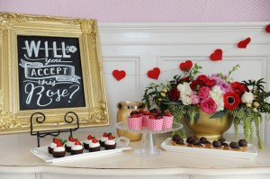 "ABC's ""Bachelor"" Viewing Party with So Many Cute Ideas via Kara's Party Ideas KarasPartyIdeas.com #girlsnightout #thebachelor #karaspartyideas (6)"
