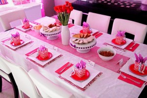 Glamorous Barbie Birthday Party with Lots of Fun Ideas via Kara's Party Ideas KarasPartyIdeas.com #barbieparty #dollparty #girlypartyideas #karaspartyideas.com (8)