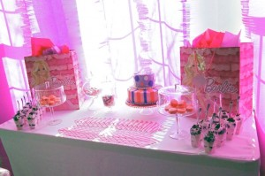 Glamorous Barbie Birthday Party with Lots of Fun Ideas via Kara's Party Ideas KarasPartyIdeas.com #barbieparty #dollparty #girlypartyideas #karaspartyideas.com (6)