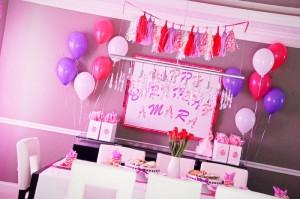 Glamorous Barbie Birthday Party with Lots of Fun Ideas via Kara's Party Ideas KarasPartyIdeas.com #barbieparty #dollparty #girlypartyideas #karaspartyideas.com (4)