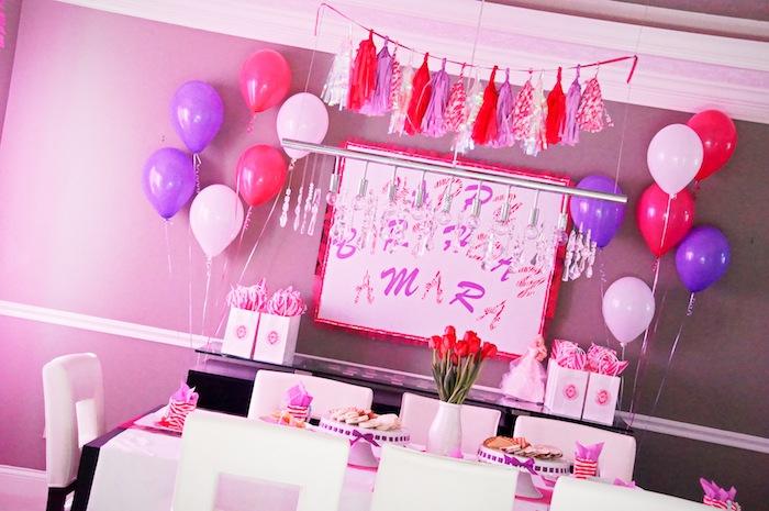 Karas Party Ideas Glamorous Barbie Birthday Party via Karas