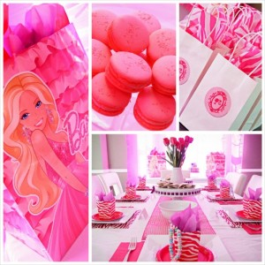 Glamorous Barbie Birthday Party with Lots of Fun Ideas via Kara's Party Ideas KarasPartyIdeas.com #barbieparty #dollparty #girlypartyideas #karaspartyideas.com (24)