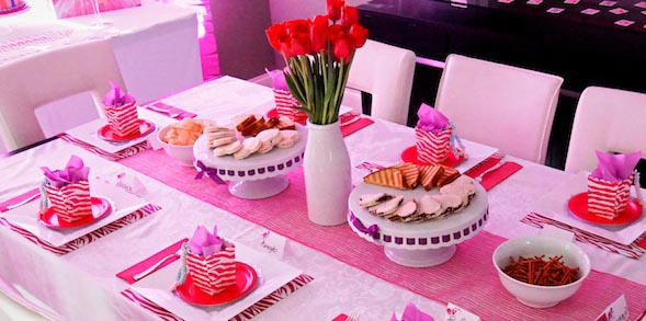 Glamorous Barbie Birthday Party with Lots of Fun Ideas via Kara's Party Ideas KarasPartyIdeas.com #barbieparty #dollparty #girlypartyideas #karaspartyideas.com (1)