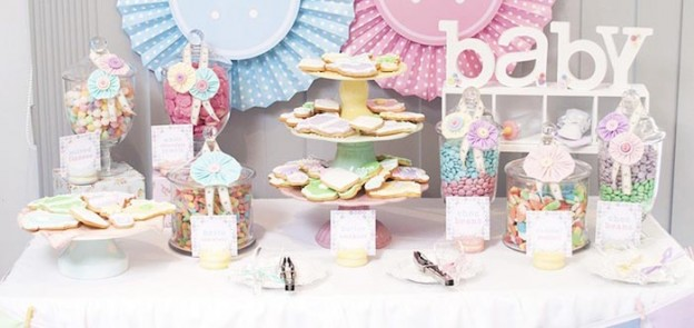 Cute as a Button Baby Shower with SUCH CUTE IDEAS via Kara's Party Ideas | KarasPartyIdeas.com #girlbabyshower #cuteasabuttonparty #partyideas (1)