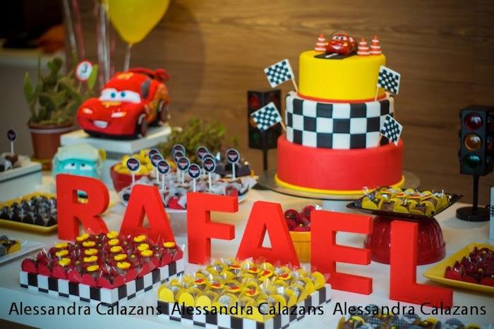 Cars themed birthday party with Such Cute Ideas via Karas Party Ideas ...