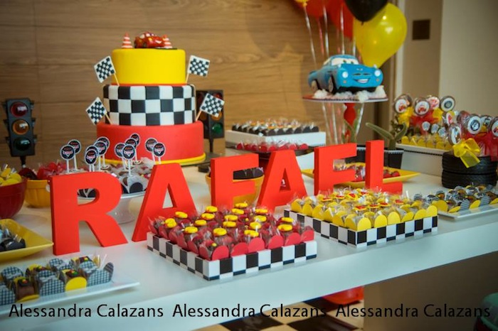 Lightning Mcqueen Birthday Party Ideas