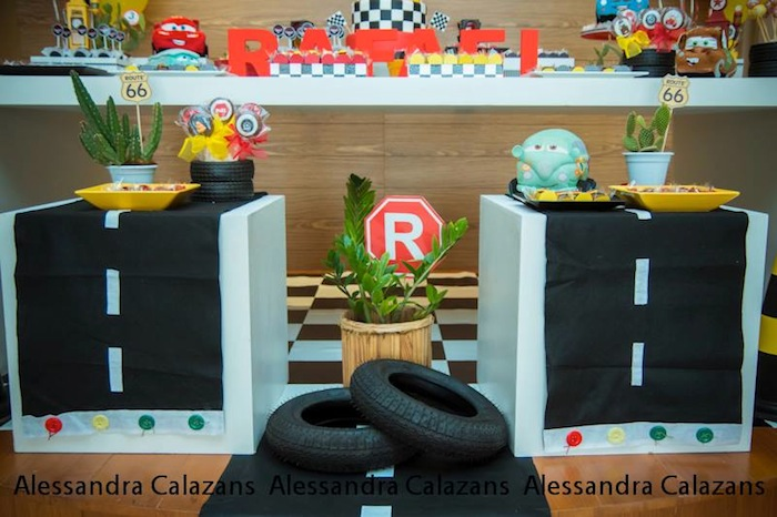 mcqueen themed birthday party ideas radiovkmtk