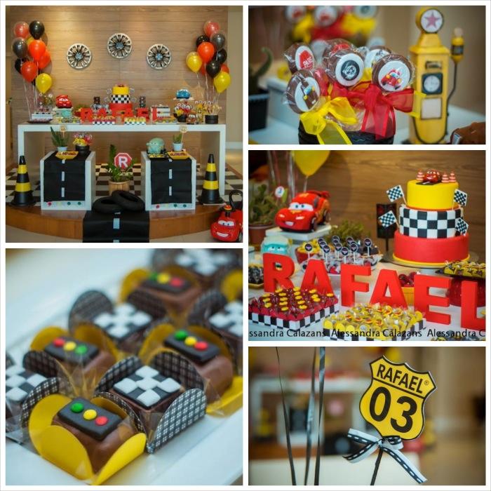 Kara S Party Ideas Car Themed 1st Birthday Party Via Kara: Kara's Party Ideas Lightning McQueen + Cars Themed