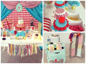 Vintage Circus themed birthday party with Such Cute Ideas via Kara's Party Ideas KarasPartyIdeas.com #circuspartyideas #circuscake #circuspartydecor #carnivalparty #vintagecircus #partyideas (21)