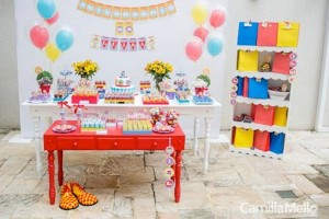 Little Clown themed 1st birthday party with So Many Fabulous Ideas via Kara's Party Ideas KarasPartyIdeas.com #clownparty #circuspartyideas #genderneutral #clowndecor #partydecor #karaspartyideas (19)