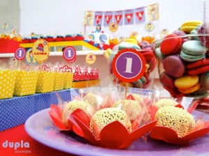 Little Clown themed 1st birthday party with So Many Fabulous Ideas via Kara's Party Ideas KarasPartyIdeas.com #clownparty #circuspartyideas #genderneutral #clowndecor #partydecor #karaspartyideas (9)