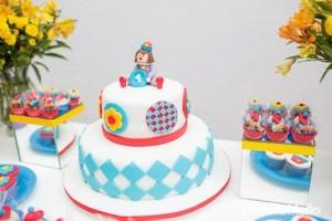 Little Clown themed 1st birthday party with So Many Fabulous Ideas via Kara's Party Ideas KarasPartyIdeas.com #clownparty #circuspartyideas #genderneutral #clowndecor #partydecor #karaspartyideas (8)
