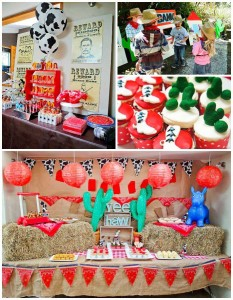 Yee Haw Cowboy Birthday Party with So Many Really Fun Ideas via Kara's Party Ideas KarasPartyIdeas.com #cowboyparty #westernparty #wildwestparty #cowboypartydecor #karaspartyideas (32)