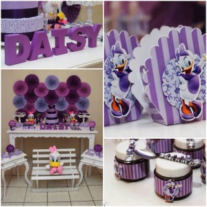 Daisy Duck themed birthday party Full of Fabulous Ideas via Kara's Party Ideas | KarasPartyIdeas.com #DonaldDuck #Disney #PartyIdeas (20)