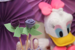 Daisy Duck themed birthday party Full of Fabulous Ideas via Kara's Party Ideas | KarasPartyIdeas.com #DonaldDuck #Disney #PartyIdeas (7)