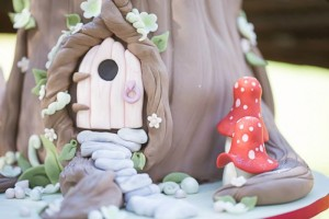 Woodland Fairy Party via Kara's Party Ideas KarasPartyIdeas.com #fairyparty #woodlandparty #toasdstoolcake #partyideas (6)
