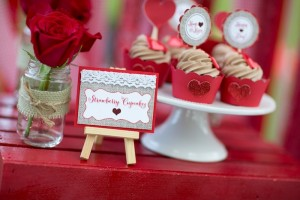 All You Need is Love Valentine's Day Party with Such Cute Ideas via Kara's Party Ideas.com #loveparty #vday #xoxo #redheartparty #karaspartyideas (15)
